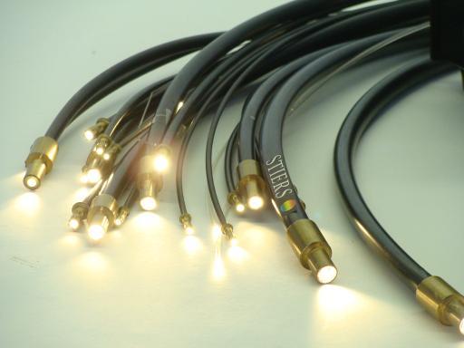 Lichtwellenleiter Beleuchtung Lichtleiter Glasfaserkabel